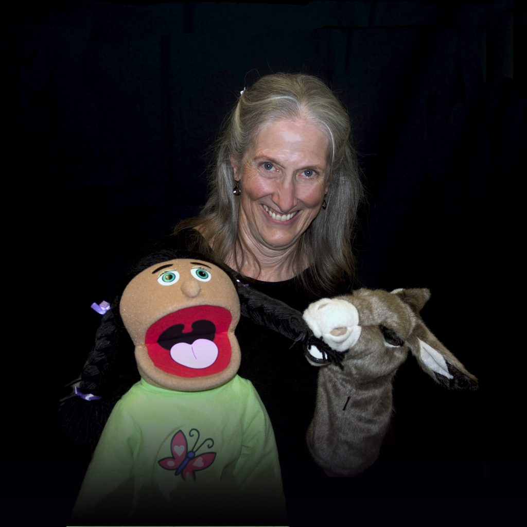 Bobbi with Puppets