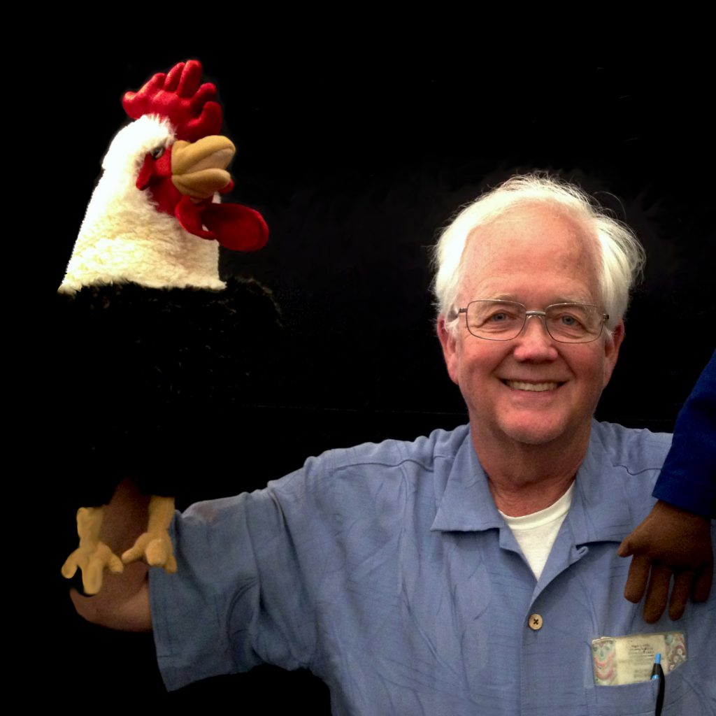 Neal with Puppets